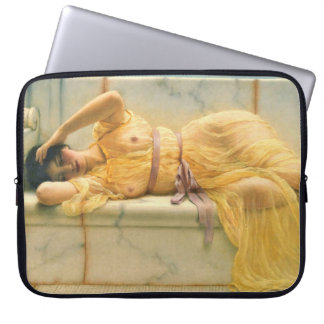 Vestido amarillo 1901 funda ordendadores