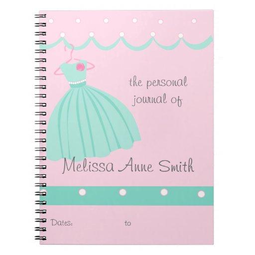 Vestido bonito cuadernos