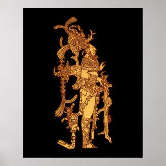 Vestido ceremonial maya impresiones