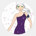 Vestido cristalino etiquetas