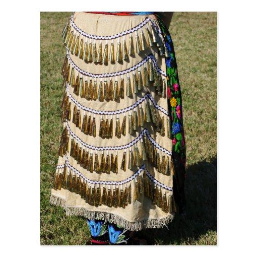 Vestido de Belces Tarjeta Postal