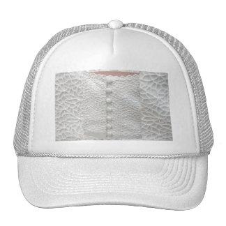 Vestido de boda blanco - personalizable gorras de camionero
