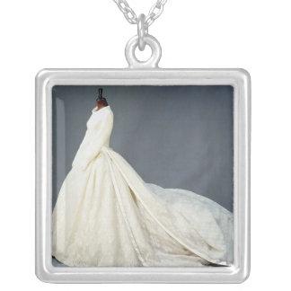 Vestido de boda de Katharine Worsley Colgante Cuadrado