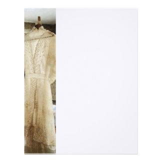 Vestido de boda del siglo XIX Membretes Personalizados