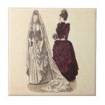 Vestido de boda del Victorian Azulejos Ceramicos