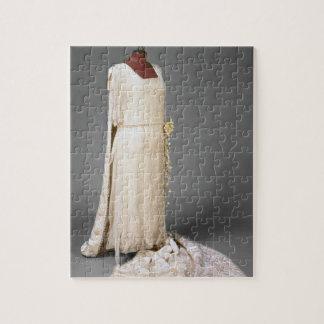 Vestido de boda llevado por Maria, Princesa Real,  Puzzles Con Fotos