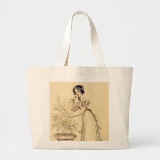 Vestido de bola de la regencia de Jane Austen Bolsas