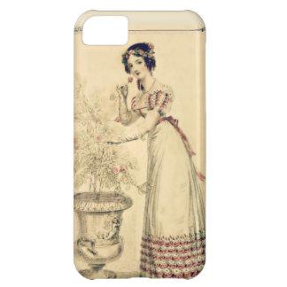 Vestido de bola de la regencia de Jane Austen Funda Para iPhone 5C