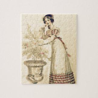 Vestido de bola de la regencia de Jane Austen Puzzles
