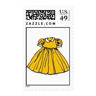 Vestido de fiesta amarillo envio