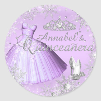 Vestido de la chispa y pegatina púrpuras de
