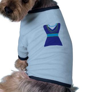 Vestido de la moda camisa de perro