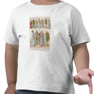 Vestido de los británico, del Gauls y de los alema Camisetas