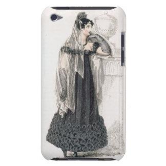 Vestido de luto, placa de moda del representante d Case-Mate iPod touch cárcasas