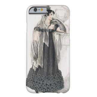 Vestido de luto, placa de moda del representante funda de iPhone 6 barely there