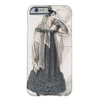 Vestido de luto, placa de moda del representante funda para iPhone 6 barely there