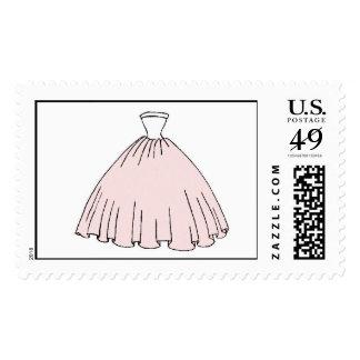 Vestido de Mitzvah del palo Sellos Postales