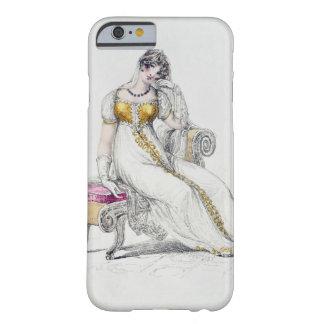 Vestido de noche o vestido de boda, placa de moda funda de iPhone 6 barely there