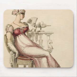 Vestido de noche o vestido de bola, placa de moda  tapete de ratón