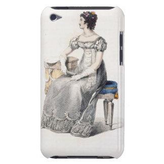 Vestido de noche, placa de moda del Repo de Ackerm iPod Case-Mate Funda