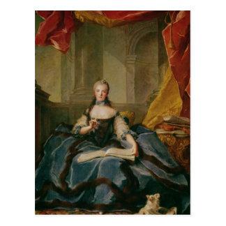Vestido de señora Adelaide de Francia ante el trib Postal