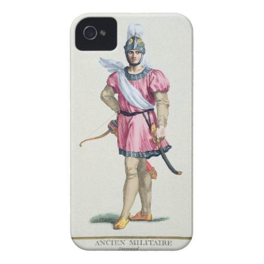 Vestido de un soldado normando de 'DES Estamp de Funda Para iPhone 4 De Case-Mate