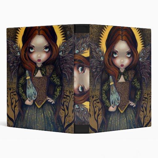 Vestido del arte de hadas gótico del ángel de la C