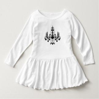 Vestido del bebé de la lámpara poleras