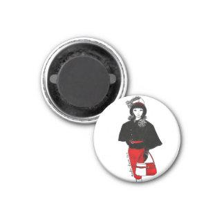 Vestido del cabo de la manera de la muñeca de Mati Imán Redondo 3 Cm