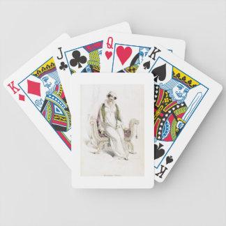 Vestido del día placa de moda de Reposito de Acke Baraja Cartas De Poker