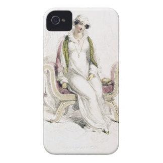 Vestido del día, placa de moda de Reposito de Acke iPhone 4 Protector