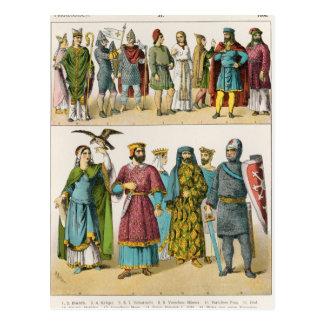 Vestido del francés postal
