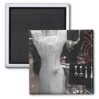 vestido del miniture imán cuadrado