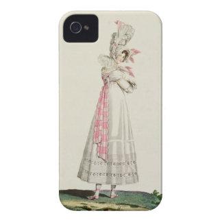 Vestido del verano, placa de moda de 'Incroyables  iPhone 4 Case-Mate Coberturas