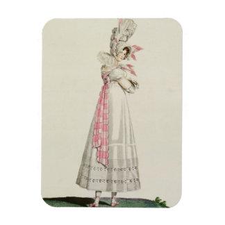 Vestido del verano, placa de moda de 'Incroyables  Imán