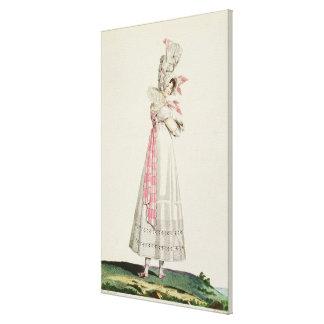 Vestido del verano, placa de moda de 'Incroyables  Impresiones De Lienzo