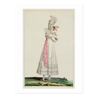 Vestido del verano, placa de moda de 'Incroyables  Tarjetas Postales