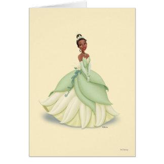 Vestido del verde de Tiana Tarjeta De Felicitación