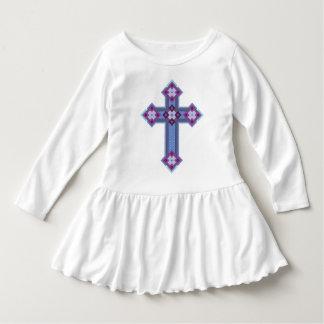 Vestido del volante del niño de Regium Crucis™ Vestido Con Volantes Para Niñas