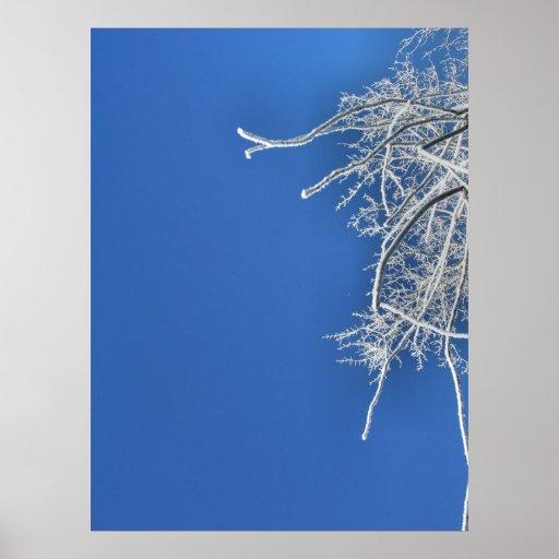Vestido en Frost Posters