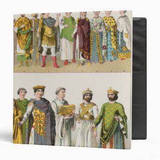 """Vestido en la corte bizantina carpeta 1 1/2"""""""