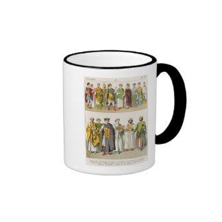 Vestido en la corte bizantina taza