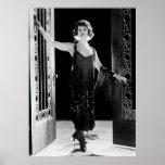 Vestido fabuloso de la aleta: los años 20 impresiones