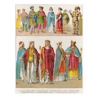 Vestido Frankish Postales
