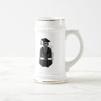 Vestido graduado de Meerkat W/Grey y marco negro Tazas