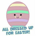 vestido para el huevo de Pascua Esculturas Fotograficas