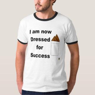 Vestido para la camiseta del éxito playeras