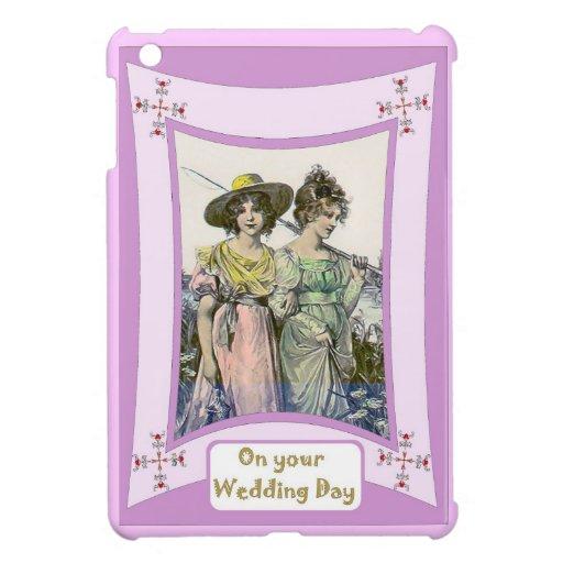 Vestido para un boda iPad mini fundas