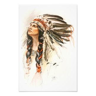 Vestido principal indio 1 de Hiawatha de la Fotografía