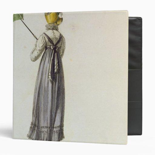 "Vestido que camina, 1814 carpeta 1 1/2"""